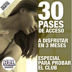 30 PASES DE ACCESOS