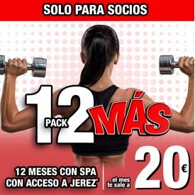 PACK 12 MÁS PARA SOCIOS