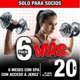 PACK 6 MÁS PARA SOCIOS
