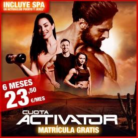 CUOTA ACTIVATOR 6 CON SPA